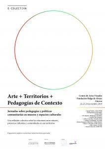 Arte. territorio y pedagogías de contexto